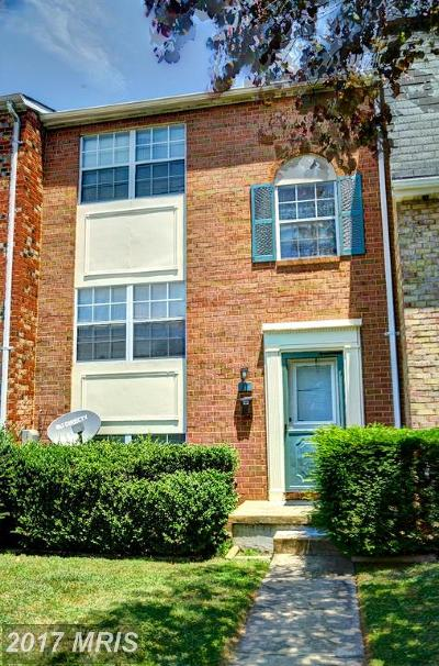 Cockeysville Townhouse For Sale: 11 Warwick Mill Court
