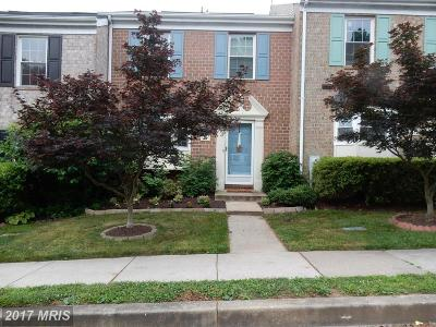 Catonsville Townhouse For Sale: 39 Bryans Mill Way