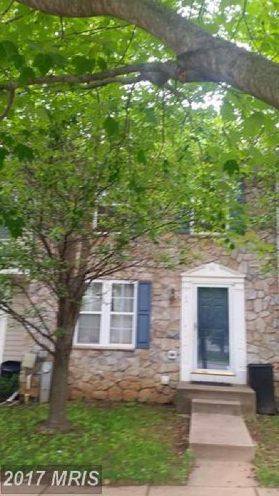 Owings Mills Townhouse For Sale: 64 Gwynnswood Road