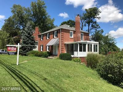 Single Family Home For Sale: 500 W Joppa Road