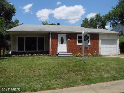 Pikesville Single Family Home For Sale: 1315 Idylwood Road
