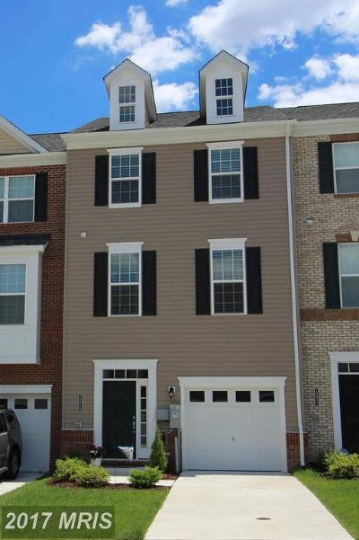 Middle River Townhouse For Sale: 10413 Braddock Run Road