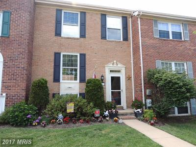 Perry Hall Townhouse For Sale: 8632 Jessica Lane