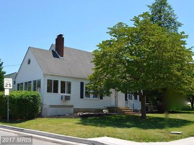 Catonsville Single Family Home For Sale: 609 Meyers Drive