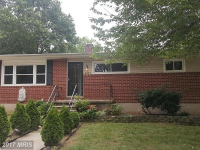 Pikesville Single Family Home For Sale: 4207 Campfield Place