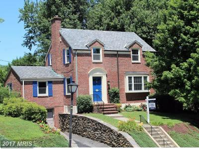Baltimore Single Family Home For Sale: 624 Wilton Road