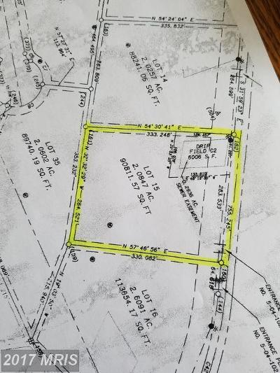 Martinsburg Residential Lots & Land For Sale: Lot 15 Scrabble Rd