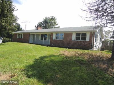 Martinsburg Single Family Home For Sale: 115 Fulks Terrace