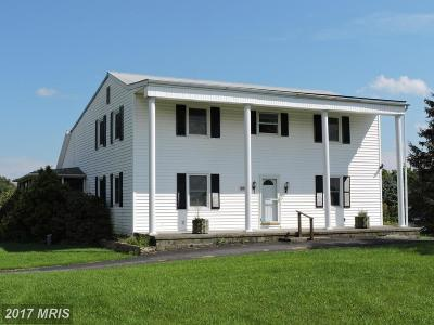 Bunker Hill Single Family Home For Sale: 488 Hyslip Ford Rd