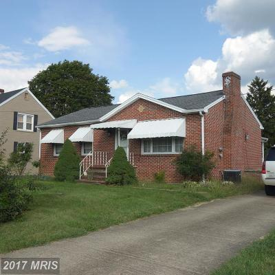 Martinsburg Single Family Home For Sale: 704 Rockcliff Drive
