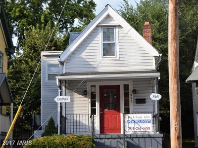 Martinsburg Single Family Home For Sale: 316 Stephen Street