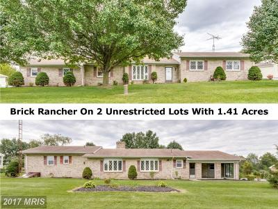 Martinsburg Single Family Home For Sale: 1439 Bedington Road