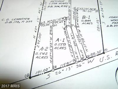 Martinsburg Residential Lots & Land For Sale: 8264 Williamsport Pike
