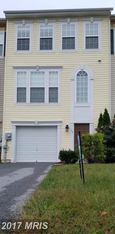 Martinsburg Townhouse For Sale: 70 Magellan Drive