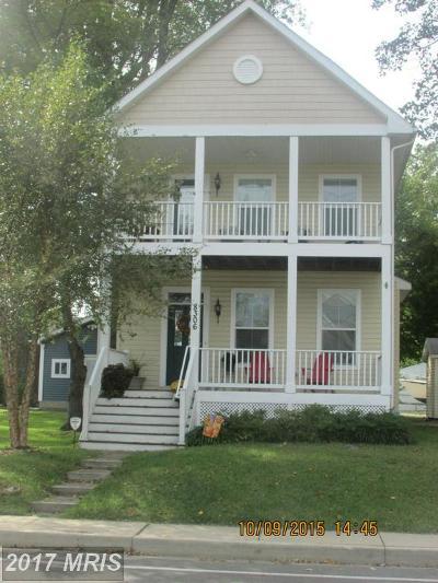Chesapeake Beach Single Family Home For Sale: 8306 Bayside Road