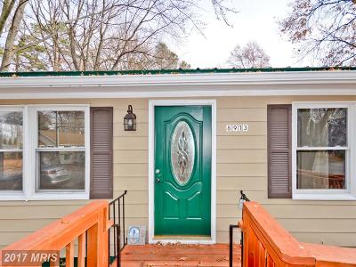 North Beach Single Family Home For Sale: 8913 Frederick Avenue