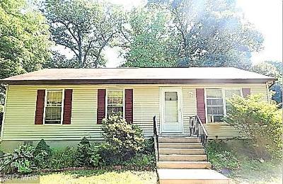 Calvert Single Family Home For Sale: 8801 Adams Church Road