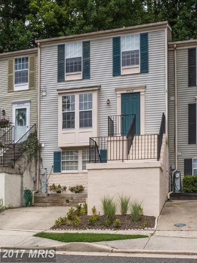 North Beach Townhouse For Sale: 8902 Chesapeake Lighthouse Drive