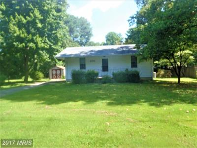 Lusby Single Family Home For Sale: 454 Chestnut Drive