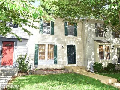 Calvert Townhouse For Sale: 8582 Chesapeake Lighthouse Drive