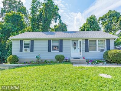 Chesapeake Beach Single Family Home For Sale: 6560 8th Street