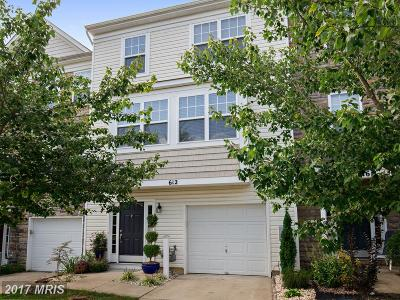 Prince Frederick Townhouse For Sale: 612 Burr Oak Court