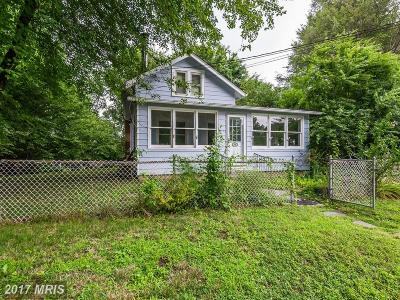 Chesapeake Beach Single Family Home For Sale: 4010 13th Street