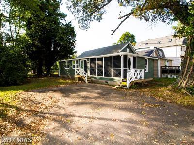 Chesapeake Beach Single Family Home For Sale: 8712 Bayside Road N