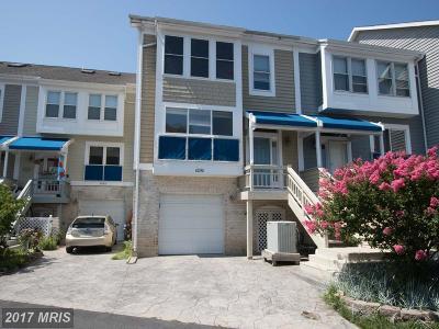 Chesapeake Beach Townhouse For Sale: 8090 Windward Key Drive