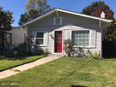 North Beach Single Family Home For Sale: 9214 Chesapeake Avenue