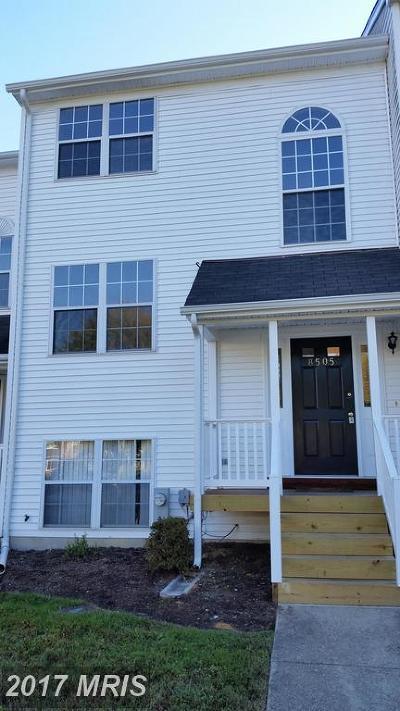 Calvert Rental For Rent: 8505 E Street