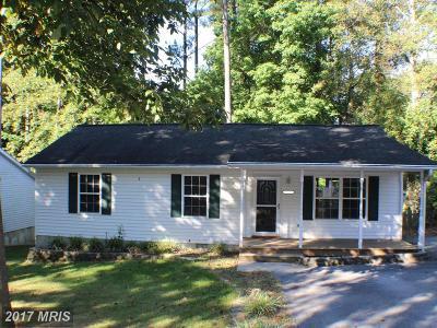 Calvert Single Family Home For Sale: 12103 Gringo Road