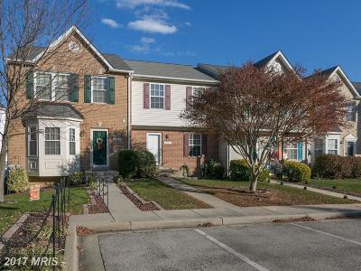 Calvert Townhouse For Sale: 2521 Woodland Terrace