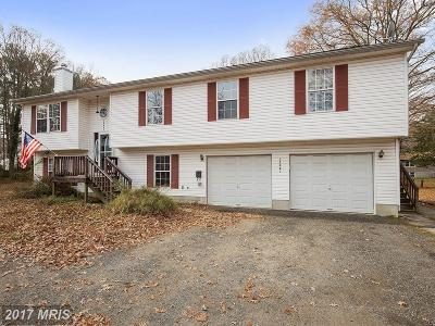Dowell, Solomons Single Family Home For Sale: 13621 Dowell Road