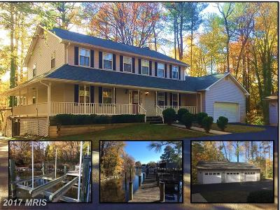 Dowell, Solomons Single Family Home For Sale: 13630 Dowell Road