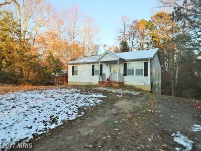 Calvert Single Family Home For Sale: 5924 Hillside Road