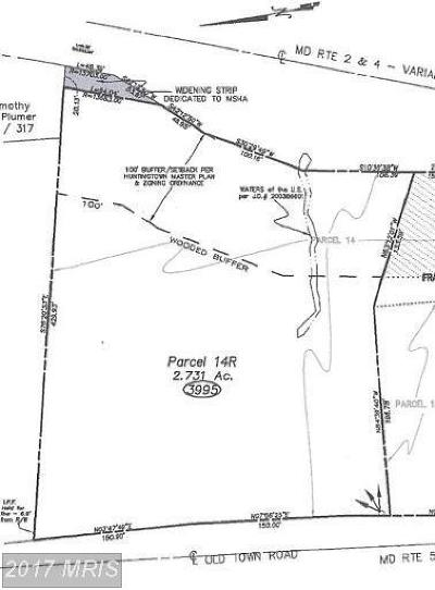 Huntingtown Residential Lots & Land For Sale: 3995 Old Town Road