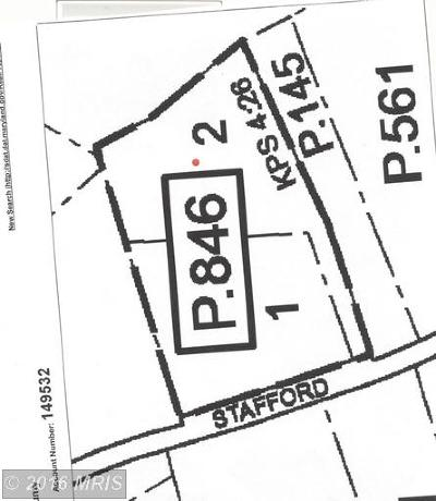 Prince Frederick Residential Lots & Land For Sale: 285 Stafford Road