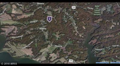 Prince Frederick Residential Lots & Land For Sale: 1850 Old Adelina Road