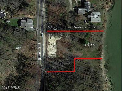 Chesapeake Beach Residential Lots & Land For Sale: 6331 Bayside Road
