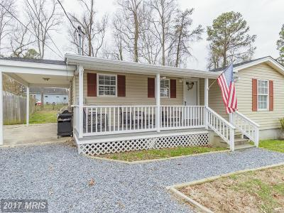 Calvert, Charles, Saint Marys Single Family Home For Sale: 332 White Sands Drive