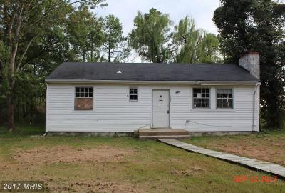Broomes Island MD Single Family Home For Sale: $60,000