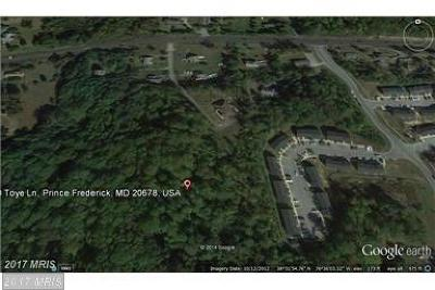 Prince Frederick MD Residential Lots & Land For Sale: $174,999