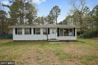 Calvert, Charles, Saint Marys Single Family Home For Sale: 1003 Vine Street