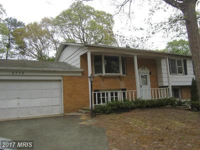 Calvert Single Family Home For Sale: 5770 Long Beach Drive