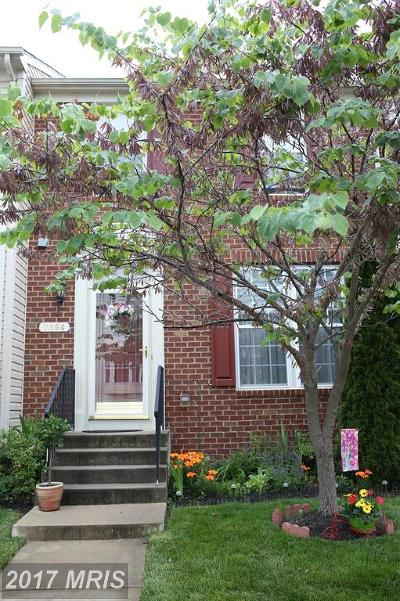 Chesapeake Beach Townhouse For Sale: 7894 Ivy Terrace #4