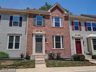 Chesapeake Beach Townhouse For Sale: 8441 Clear Spring Drive