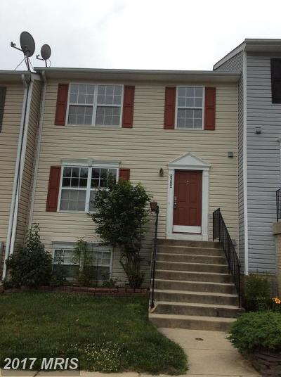 Chesapeake Beach Townhouse For Sale: 8252 Silverton Court
