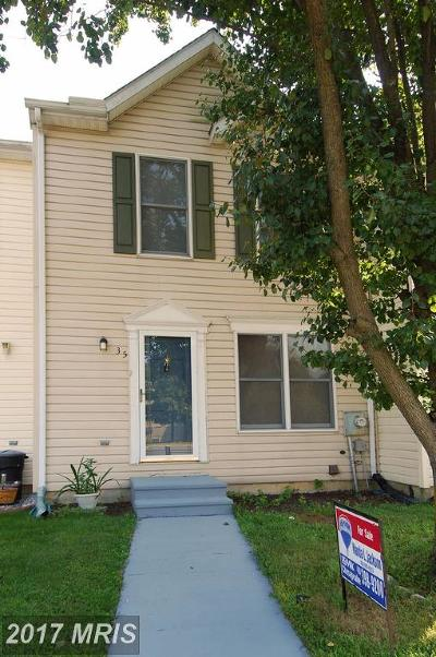 Elkton Townhouse For Sale: 35 Thyme Street