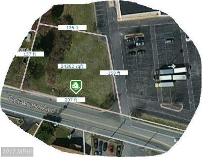 Elkton Residential Lots & Land For Sale: Delaware Avenue